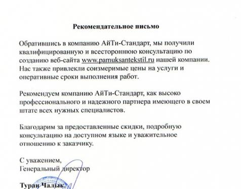 АйТи-Стандарт отзыв о работе_26