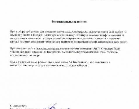АйТи-Стандарт отзыв о работе_31