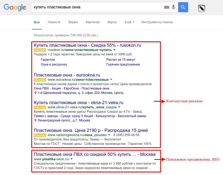 Как будут выглядеть ваши объявления в Google
