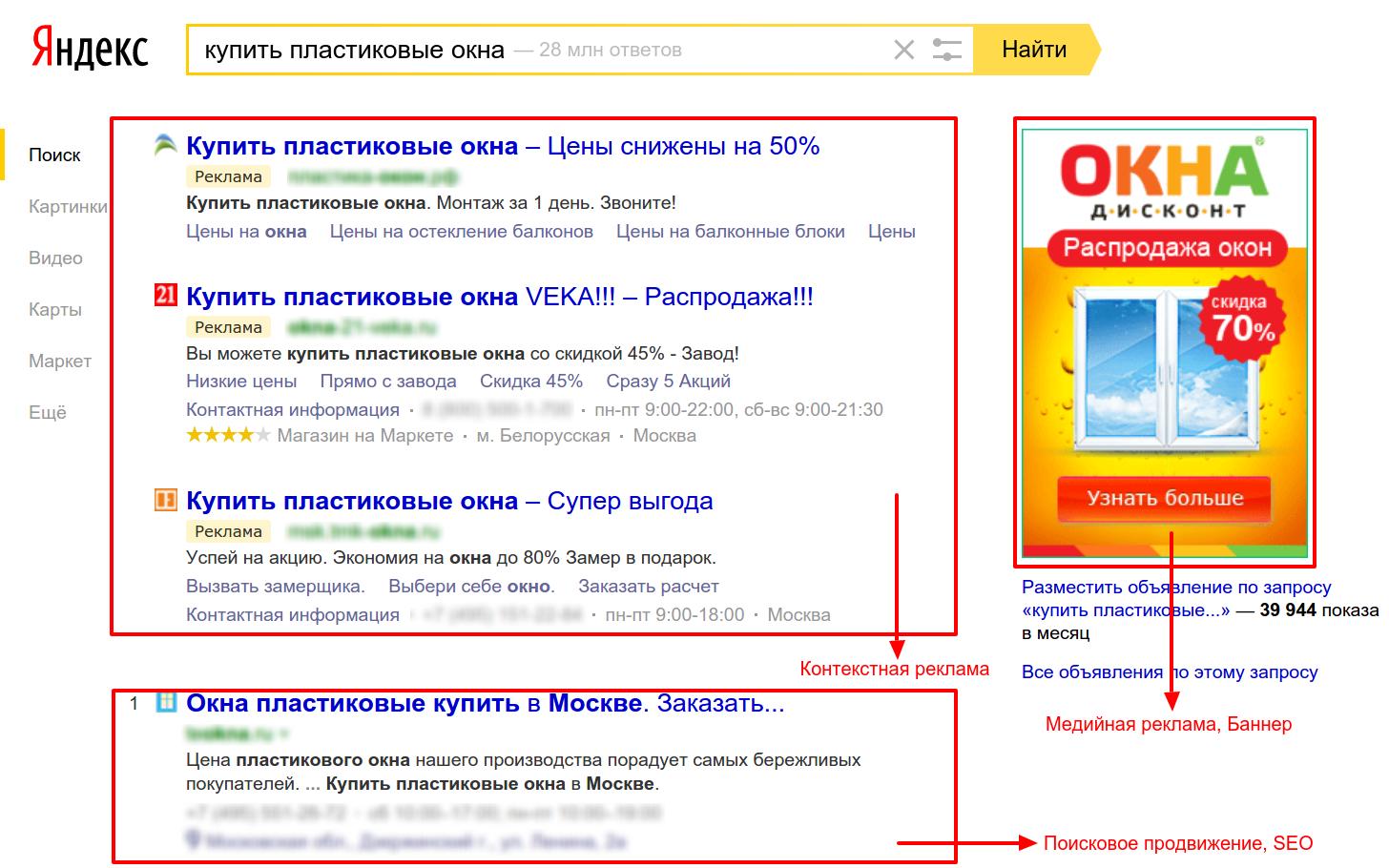 Как будут выглядеть ваши объявления в Яндекс