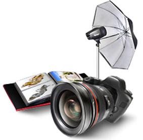 услуги выездной и студийной фотосъемки